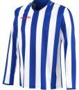 BLUE/WHITE Long Sleeve Maia Shirt