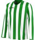 GREEN/WHITE Long Sleeve Maia Shirt