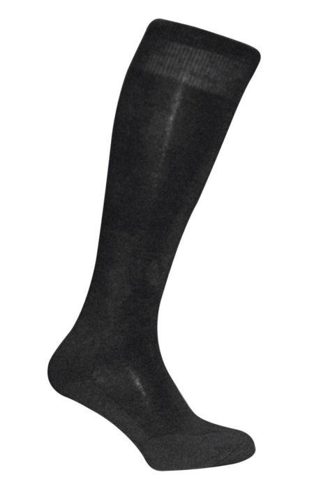 BLACK Twin Tech Monocolour Socks