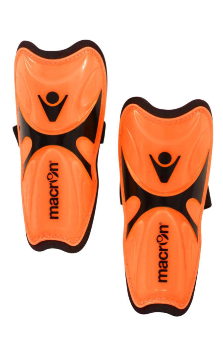 NEONORANGE/BLACK TITANIUM Shinguards